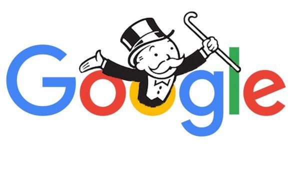 Departamento de justiça processa o Google